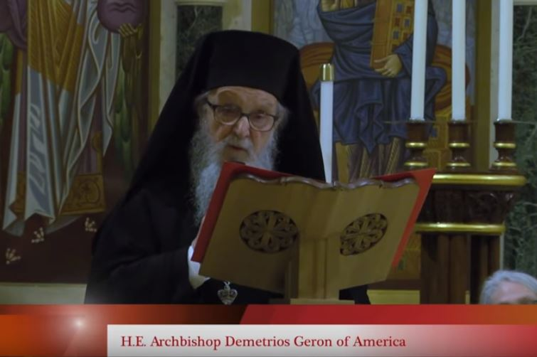 Archbishop Demetrios on Racial Justice - Holy Tuesday 2018